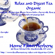 Relax and Digest Tea from Home Farm Herbery