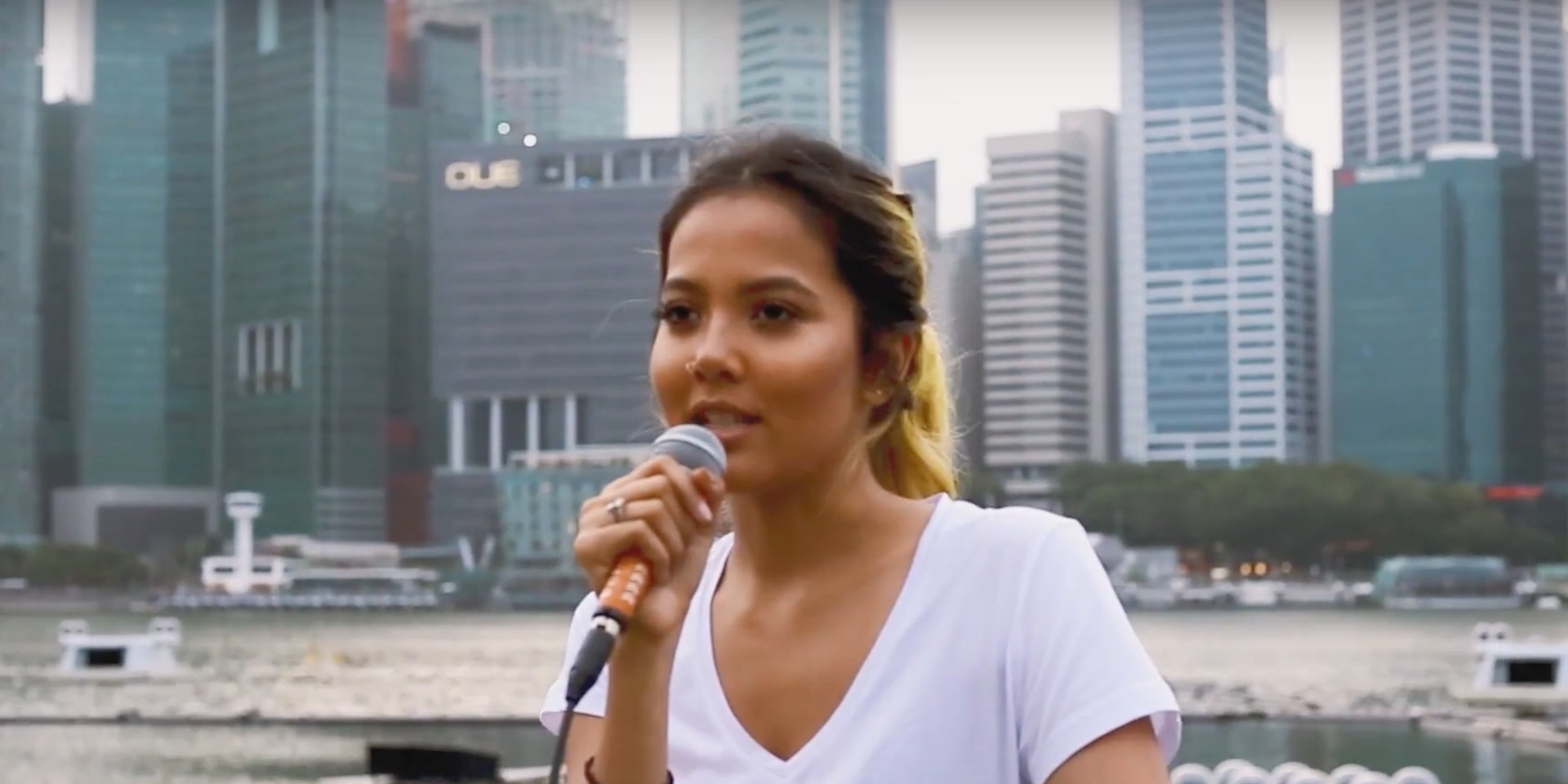 Aisyah Aziz talks about how she got her start in music, her inspirations, singing in Malay and more – watch