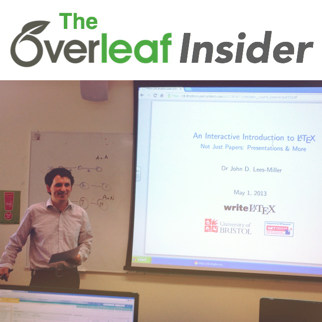 Overleaf Insider logo and pic