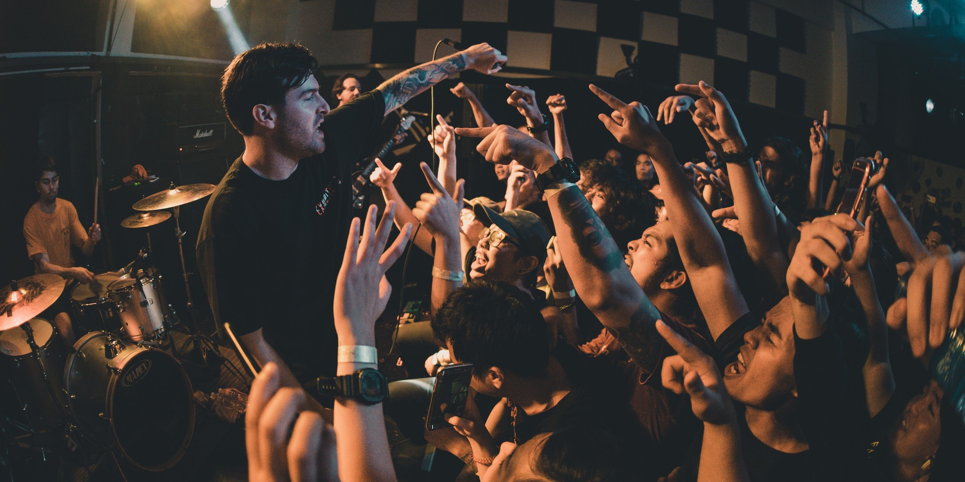 A jubilant night of hardcore with Counterparts and Stray From The Path - gig report