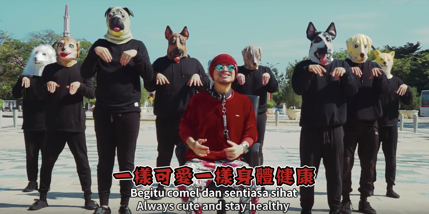 Namewee released from remand following arrest over 'Like A Dog' video
