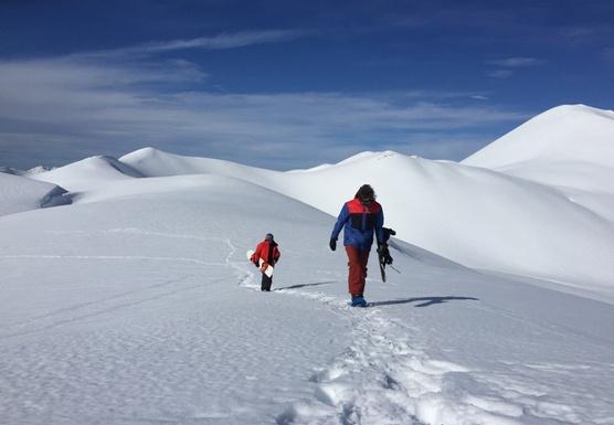 Chile Volcano Powder Hunting