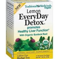 Lemon Everyday Detox Tea from Traditional Medicinals