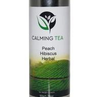 Peach Hibiscus Herbal Tea from Calming Tea