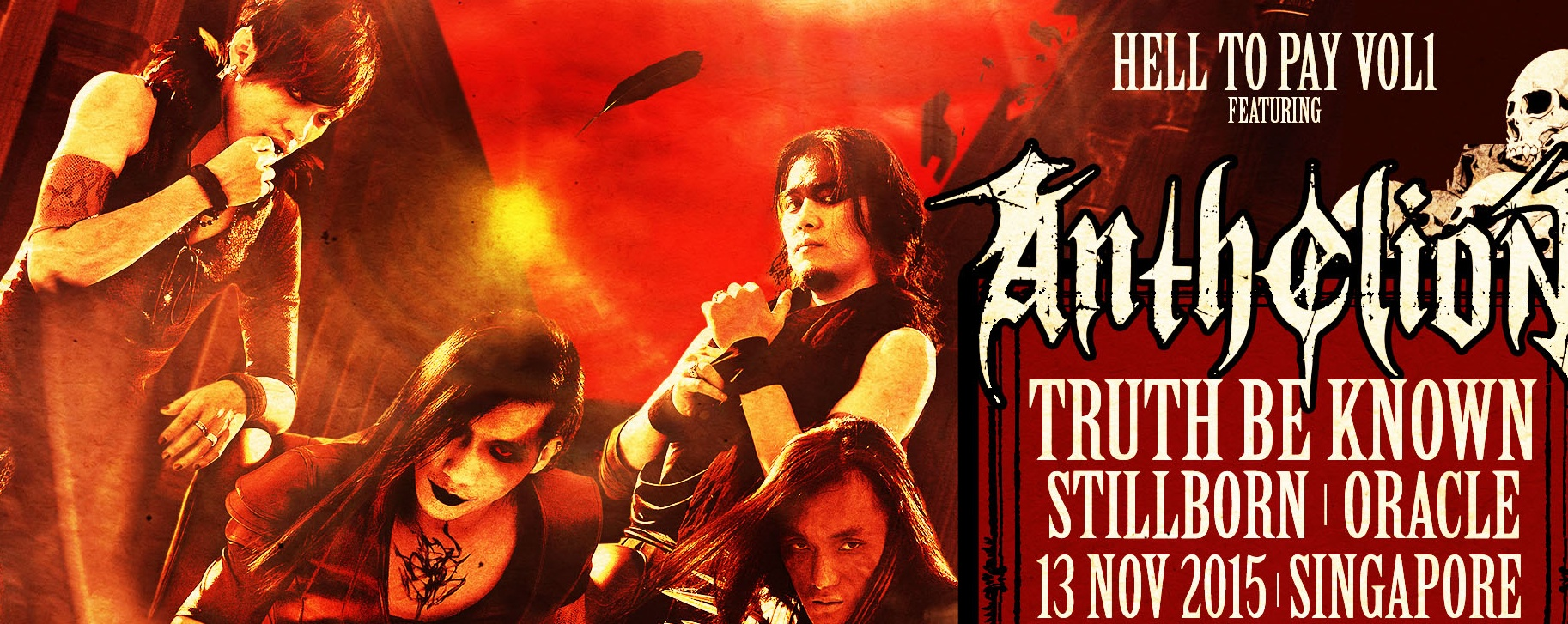 Hell to Pay vol1: Anthelion (Taiwan) Live in Singapore