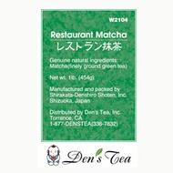 Restaurant Matcha from Den's Tea