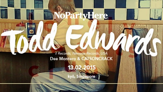 NOPARTYHERE feat. TODD EDWARDS (US)