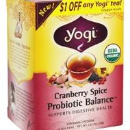 Cranberry Spice Probiotic Balance from Yogi Tea