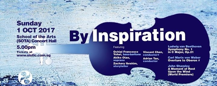 """BHSO's October Concert """"By Inspiration"""""""