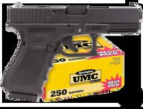 Glock Glock G19 G4 + UMC 250 Rounds Bundle
