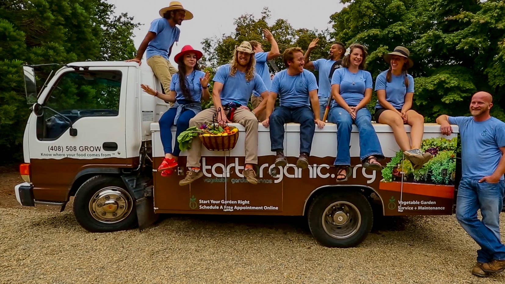 StartOrganic Vegetable Garden Education