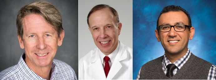 John Cleary MD, Jay Goldsmith MD, Tony Soliman MD,