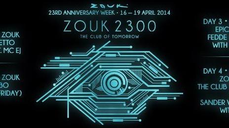 ZOUK 2300 - THE CLUB OF TOMORROW ft. SANDER VAN DOORN
