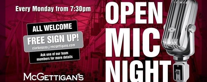 Open Mic Night at McGettigan's