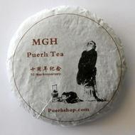 2015 MGH 1501 Premium Golden Tips Ripe Tea Cake from PuerhShop.com