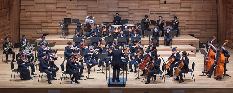 The Young Musician's Foundation Orchestra