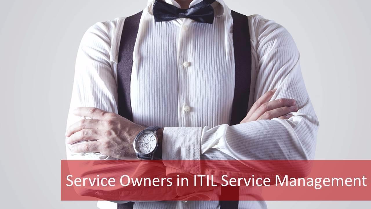 Service Owner ITIL Service Management