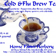 Cold and Flu Tea Blend from Home Farm Herbery