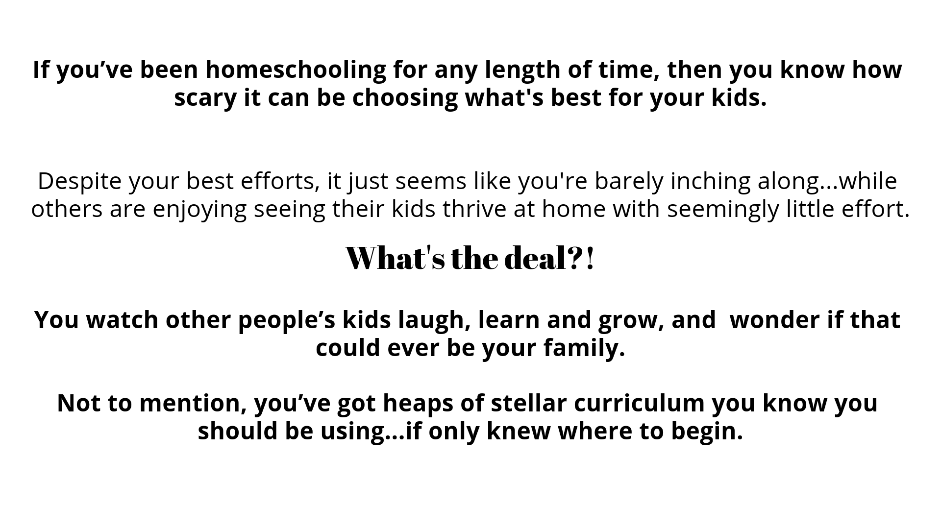 The Heart of Homeschooling God's Way | A Better Way to