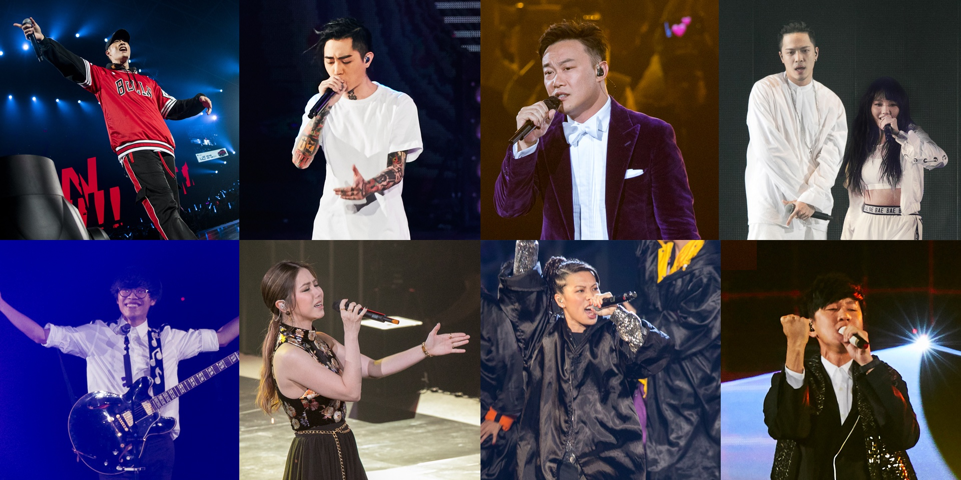 A look back at the star-studded 13th KKBOX Music Awards –photo gallery