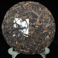 2017 Spring Tianming Pa Sha Dashu Big Tree Raw Puer 357g Tea Cake from mud and leaves