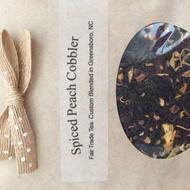 Spiced Peach Cobbler from Vida pour Tea