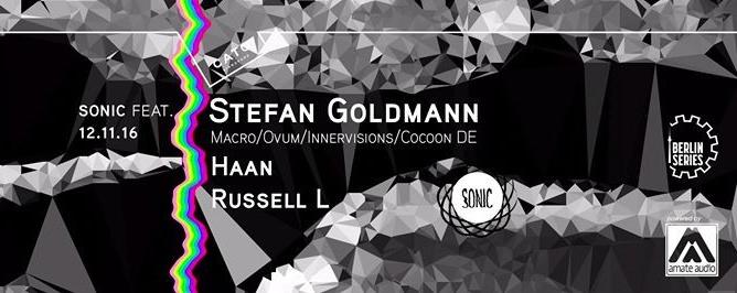 Sonic feat Stefan Goldmann (Macro / Berghain - DE)