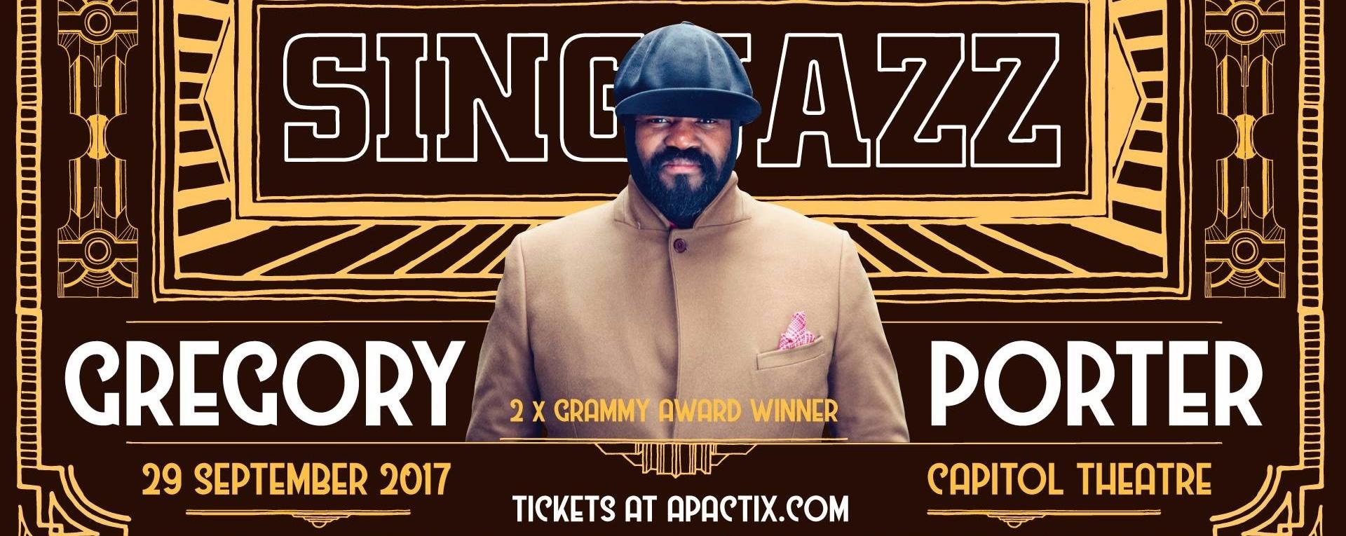 SING JAZZ Presents: Gregory Porter