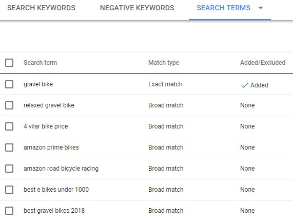 Google Ads Tips and Tricks Search Terms