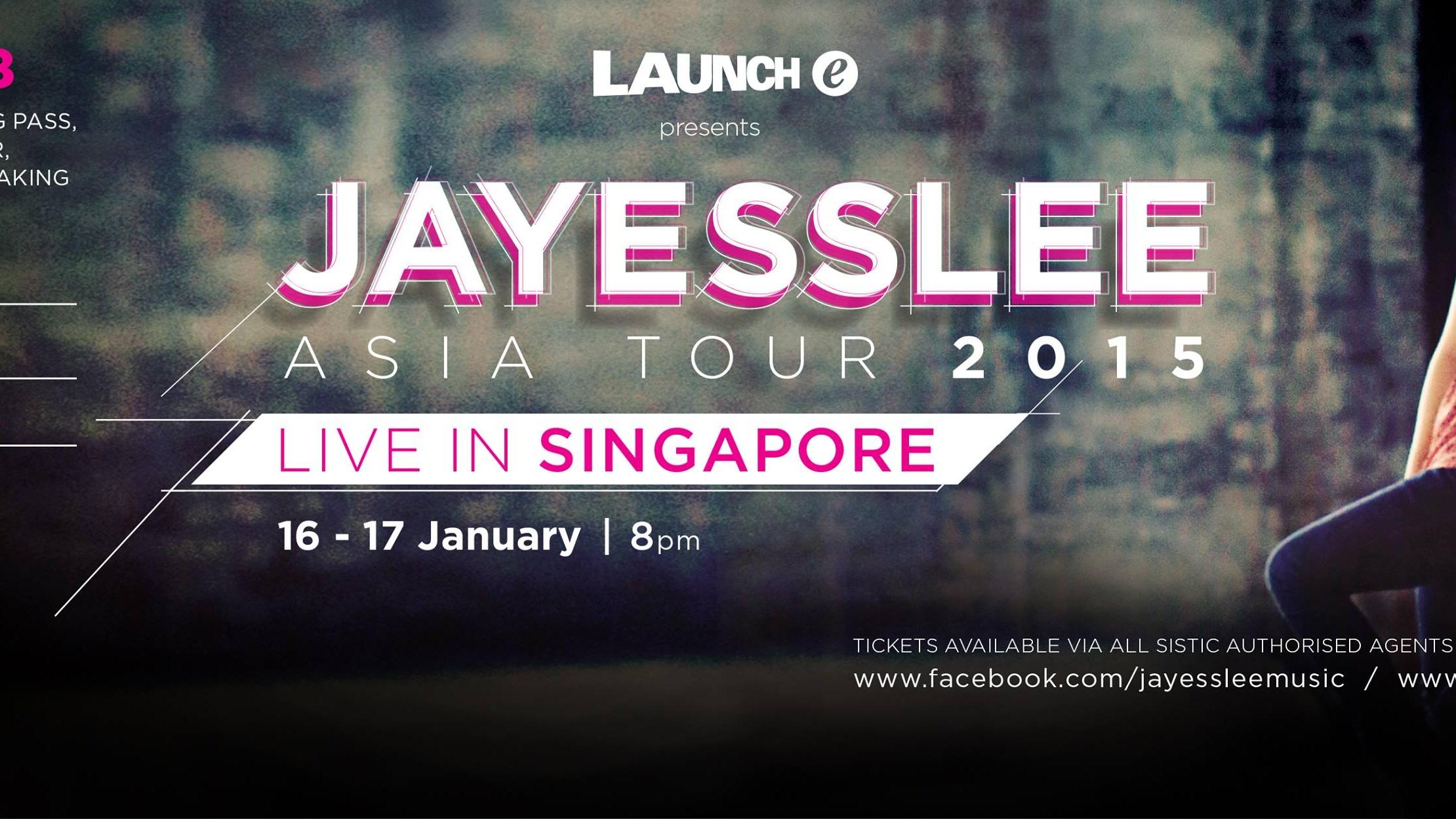 JAYESSLEE ASIA TOUR 2015 - SINGAPORE