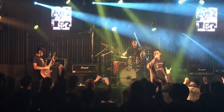 WATCH: Wormrot make their live debut in South Korea