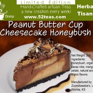 Peanut Butter Cup Cheesecake Honeybush from 52teas