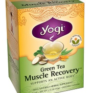 Green Tea Muscle Recovery from Yogi