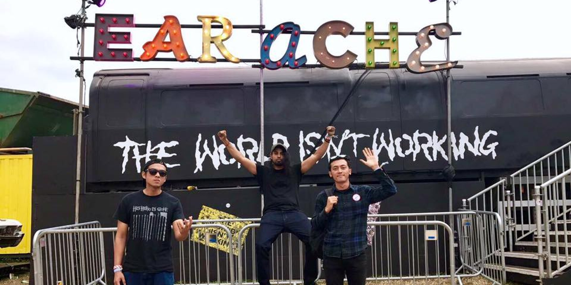 Watch Wormrot's live debut at Glastonbury, profiled by BBC Music