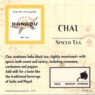 Chai from Xanadu Fine Teas