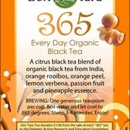 365 Every Day Organic Citrus Black Tea Blend from Zen Tara Tea