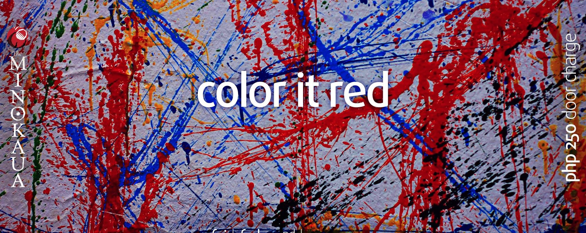 Alternative Friday with Color it Red