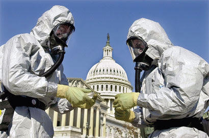 Hazmat suited Anthrax handlers LC Grand J Petition Photo med size jpg