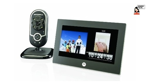 Motorola MFV-700, digitale fotolijst en babyfoon in 1