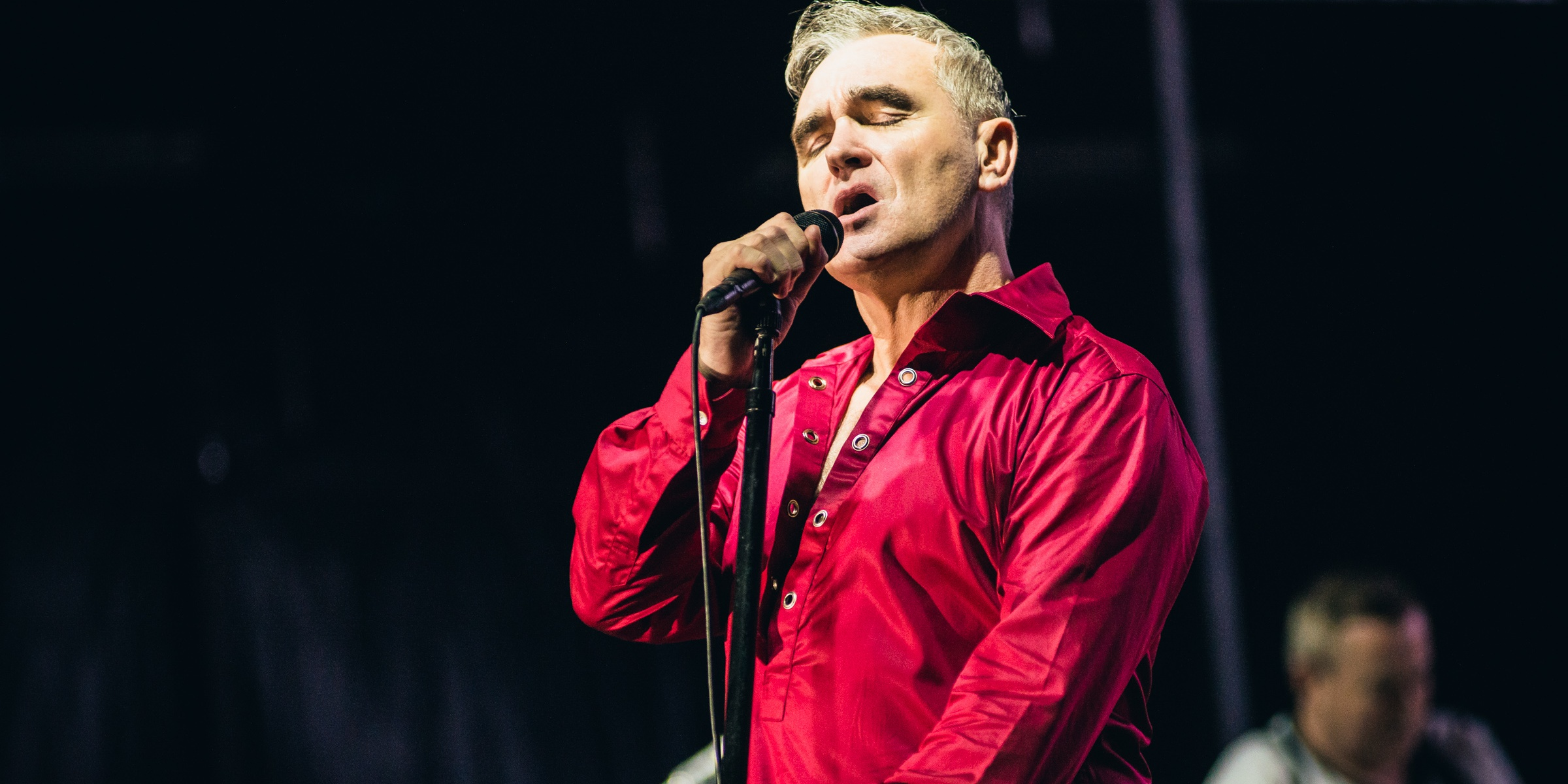 """Morrissey airs unhappiness over Singapore show, calls Marina Barrage an """"appalling"""" venue"""