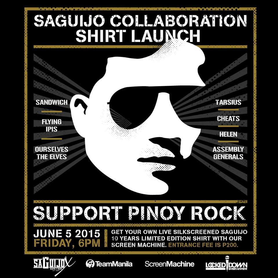 TeamManila x Saguijo Tshirt Launch