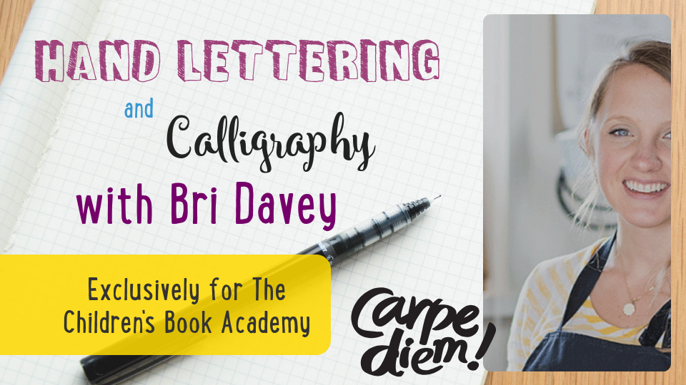 Hand Lettering and Calligraphy with Bri Davey