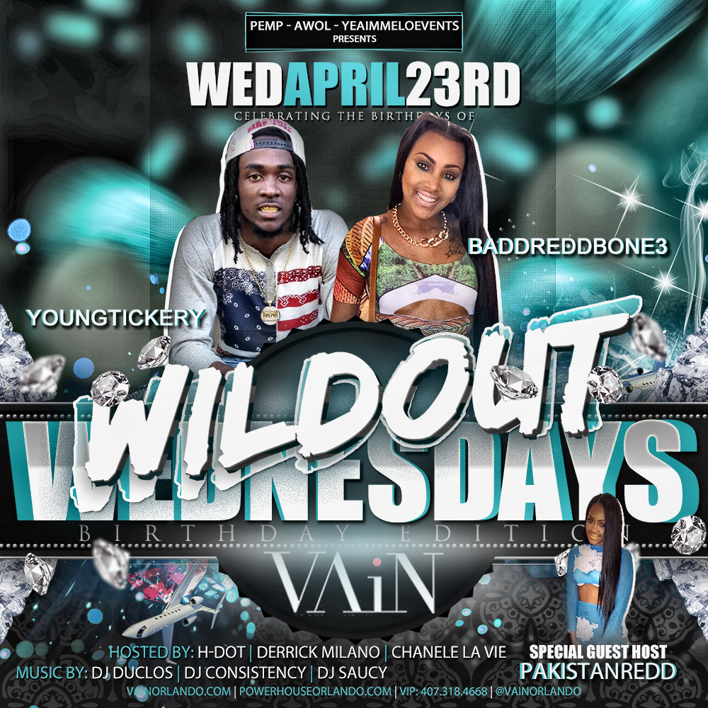 April Bdays | Wildout Wednesdays