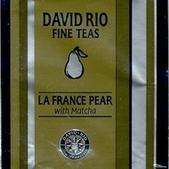 La France Pear with Matcha from David Rio