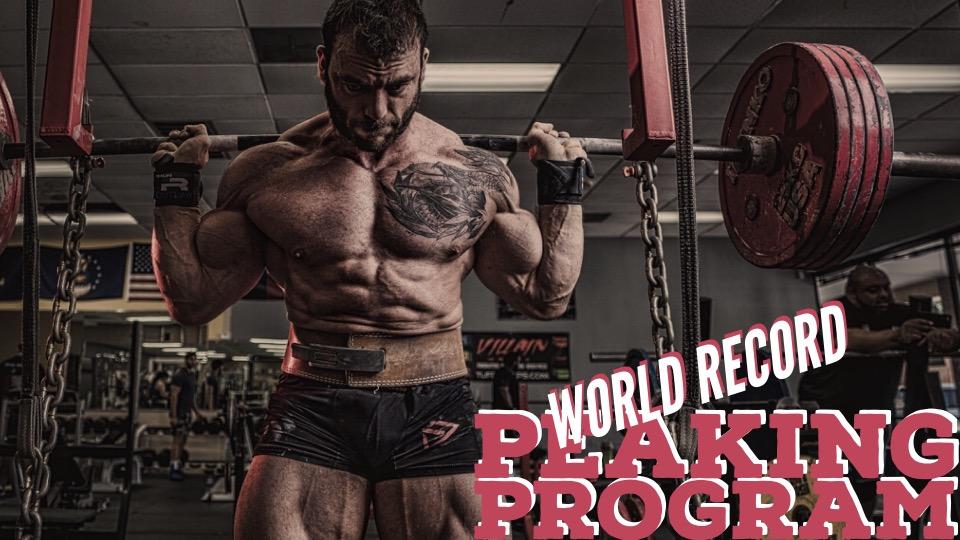 The World-Record Peaking Program   phdeadlift com