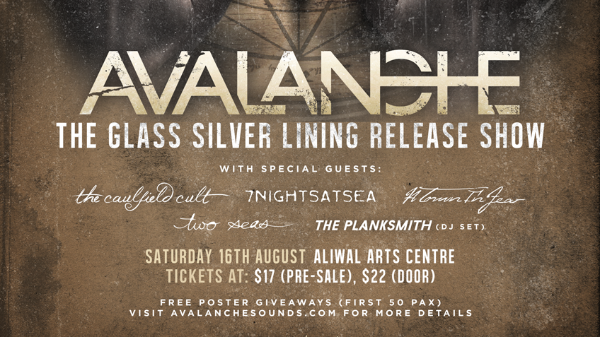 """AVALANCHE """"The Glass Silver Lining Release Show"""""""