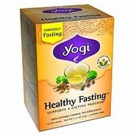 Healthy Fasting from Yogi Tea