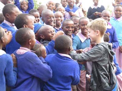 a rural mission school in Kenya