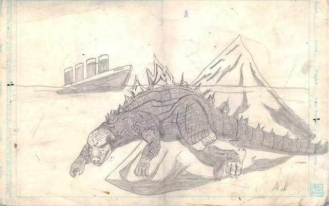 image: Godzilla Vs Titanic