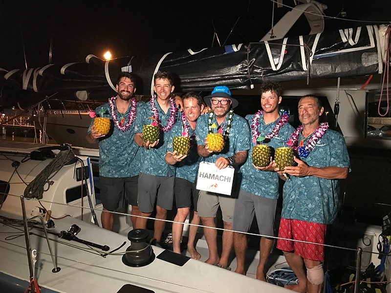 Hamachi race celebrations